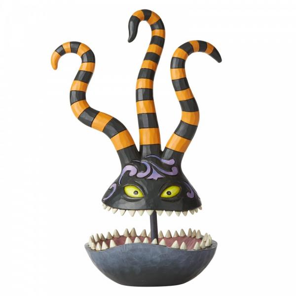 Disney Traditions , Jim Shore, Halloween Harlequin Demon Candy Dish, Harlequin Dämon, 6002838 , Disneyfigur, Disney Figur, Folkart, Volkskunst