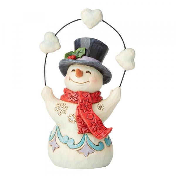 Heartwood Creek, Jim Shore, Heartfelt Holidays Snowman, Schneemann