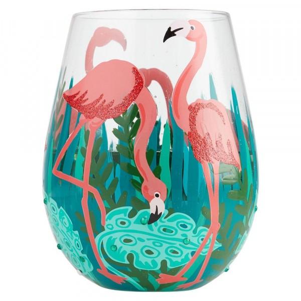 Lolita Weinglas, Lolita Weingläser, Lolita Gläser, Lolita Trinkglas, Lolita Trinkgläser, Fancy Flamingo