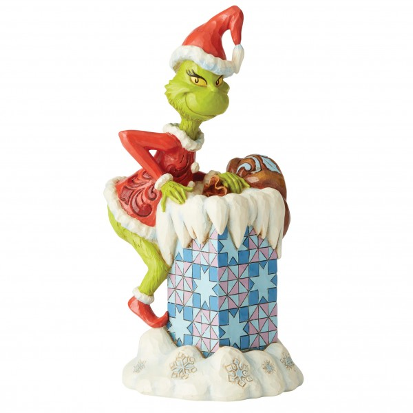 The Grinch, Der Grinch, Grinch Climbin into Chimney