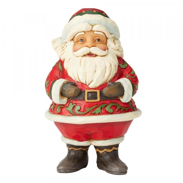 Heartwood Creek, Mini Jolly Santa, Fröhlicher Weihnachtsmann, Ornament, Anhänger