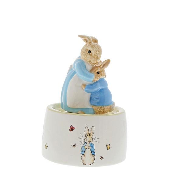 Beatrix Potter Collection, Beatrix Potter Spieluhr, A30003, Mrs. Rabbit and Peter Musical, Mrs. Rabbit and Peter Spieluhr, Peter Hase, Peter Rabbit