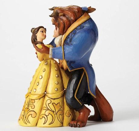 Disney Traditions, Jim Shore - Moonlight Waltz Belle & Beast - Die Schöne und das Biest