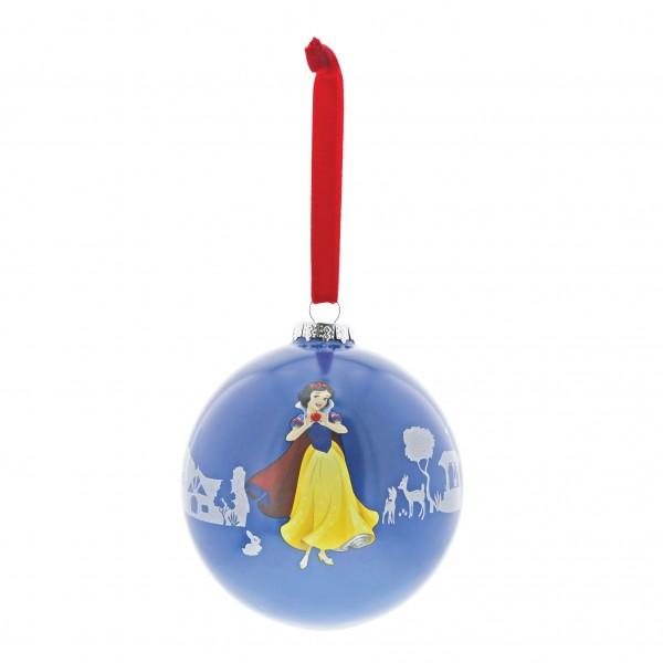 Enchanting Disney Collection, Disney Weihnachten, Disney Weihnachtskugel, A29682, The Little Princess, Snow White and the seven dwarfs, Schneewittchen und die sieben Zwerge