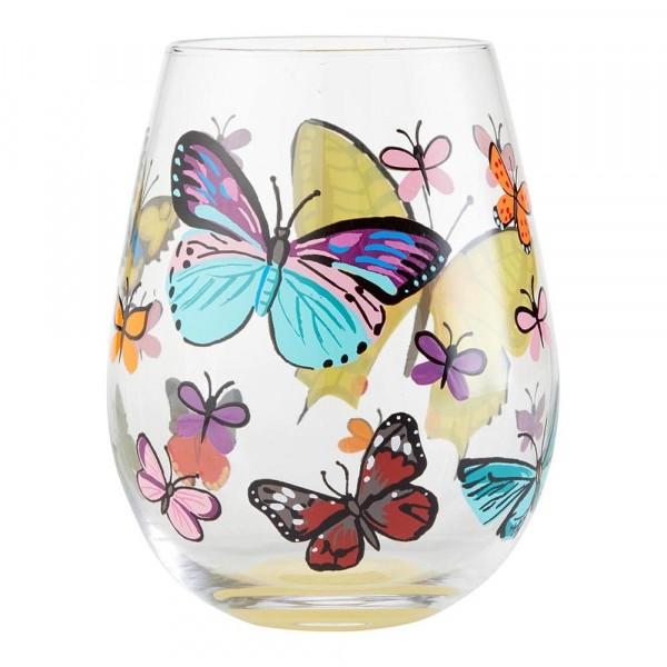 Lolita Weinglas, Lolita Weingläser, Lolita Gläser, Lolita Trinkglas, Lolita Trinkgläser, Butterflies, Schmetterlinge