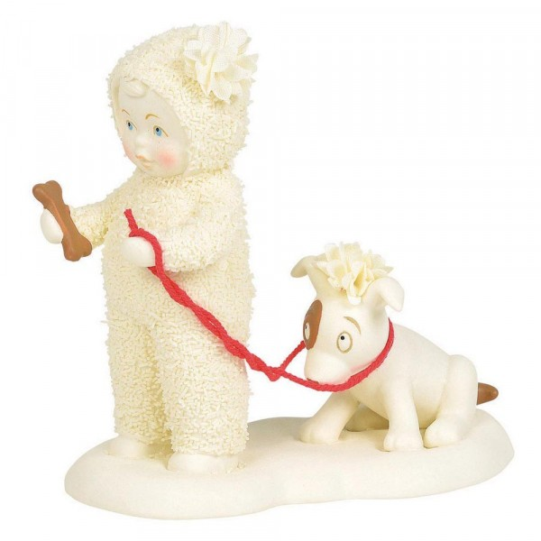Kristi Jensen Piero, Snowpinions, Snowbabies, Department 56, Give A Dog A Bone, Gib einem Hund einen Knochen, 6003506