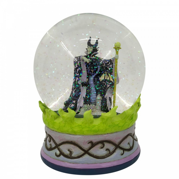 Disney Traditions , Jim Shore, Disneyfigur, Disney Figur, Maleficent Waterball, Malefiz Schneekugel, 6007084