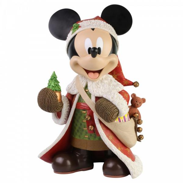 Disney Showcase, Walt Disney, Christmas Mickey Mouse Statement Figurine, Micky Maus Weihnachtsmannstatue, 6003771