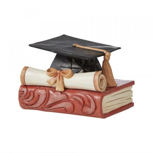 Jim Shore, Heartwood Creek, 6008793, Mini Graduation Cap, Schulabschluss, Studiumsabschluss, Abschlussfeier