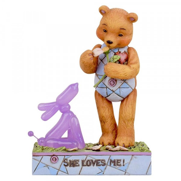 Jim Shore, Button and Squeaky, Button und Squeaky, She Loves Me, Heartwood Creek