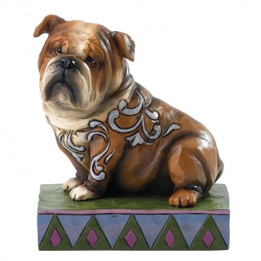 Heartwood Creek, Jim Shore, Hogan, Englische Bulldogge, Hund, dog