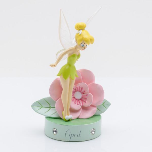 Widdop, Disney, Walt Disney, Tinker Bell, Tinkerbell, Tinkerbell Birthstone Figurine, April, Geburtsstein, DI801