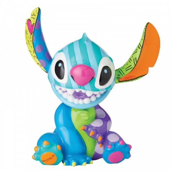 Romero Britto, Pop Art aus Miami, Disneyfigur, Disney Figur, Stitch, Lilo & Stitch Statement Figurine, Statue