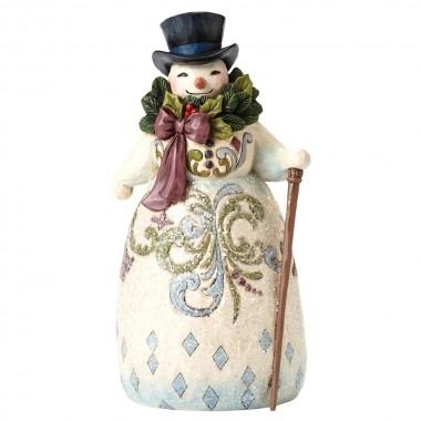 Heartwood Creek, Jim Shore, Be Joyful Always, Victorian Snowman, Schneemann