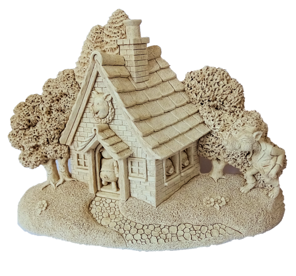 Lilliput Lane, Miniaturhaus, Miniaturhäuser, Cottage, Pigs