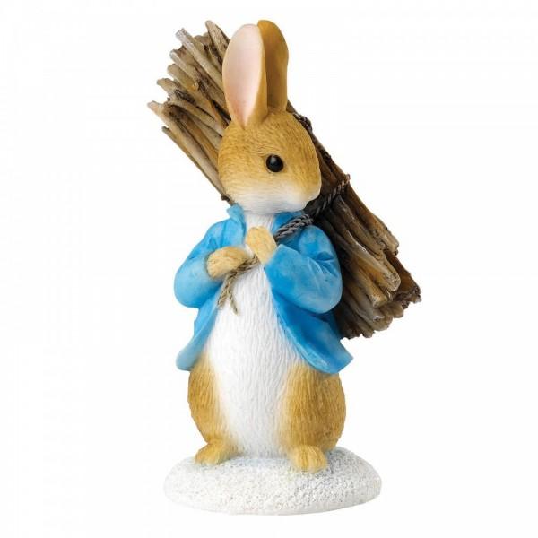 Beatrix Potter, Beatrix Potter Collection, Peter Rabbit, Benjamin Bunny, Flopsy, Jemima Puddle-Duck, Jeremy Fisher, A26906, Peter Carrying Sticks