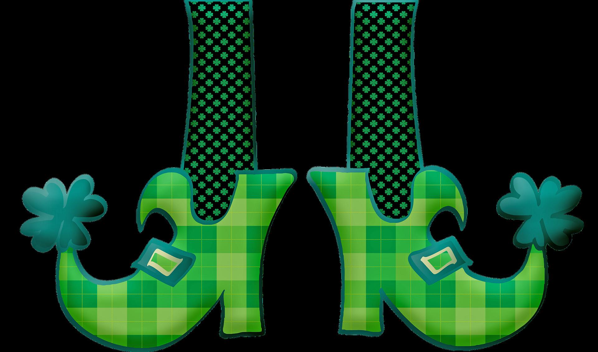 Schuhe-mit-Klee