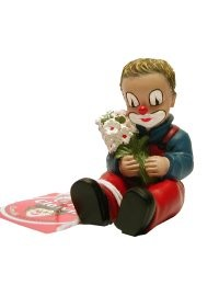 Gilde Handwerk, Gilde Clowns, Der kleine Fratz, Clown mit Blumen
