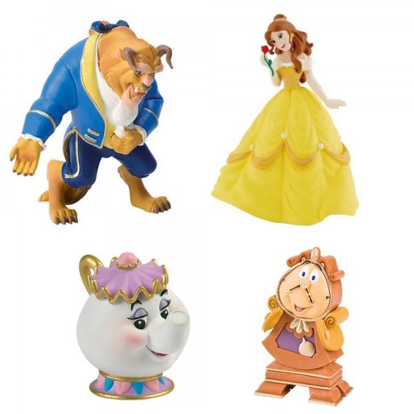Bullyland, Die Schöne und das Biest, Beauty and the Beast, Madame Pottine, Belle, Biest, Herr von Unruh, BU-12401_74