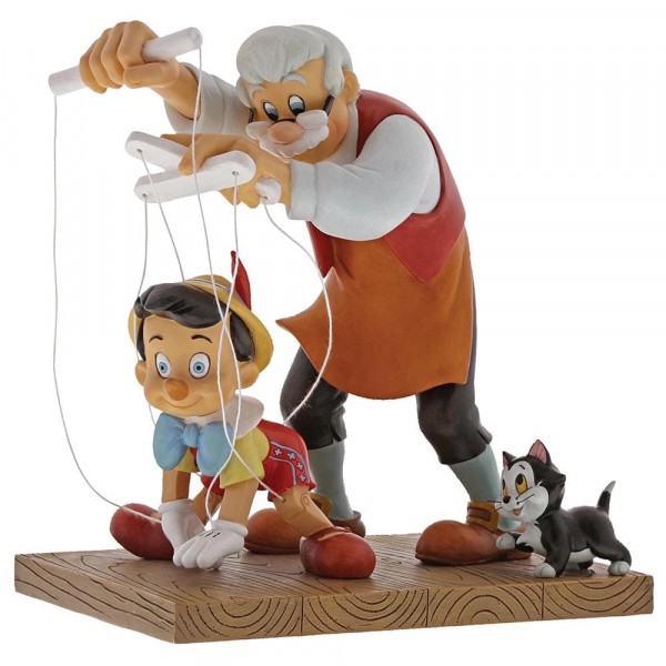 Enchanting Disney, Little Wooden Head, Pinocchio, Kleiner Holzkopf, Gepetto