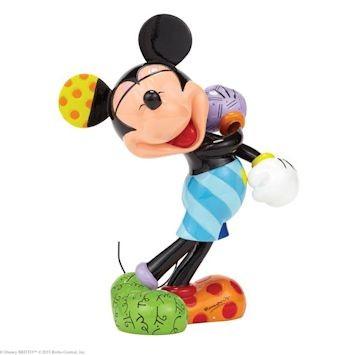 Romero Britto Pop Art aus Miami - Laughing Mickey Mouse / Lachende Micky Maus