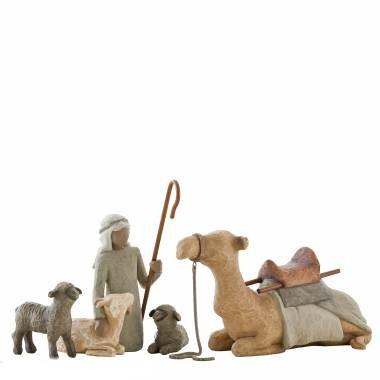 Willow Tree, Willowtree, Demdaco, Susan Lordi, Shepherd and Stable Animals, Schäfer und Tiere, Nativity, Krippe