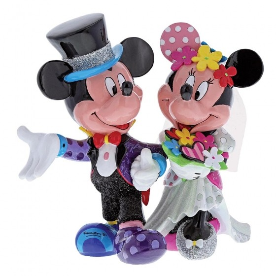 Romero Britto Pop Art aus Miami - Mickey & Minnie Wedding / Micky & Minnie Hochzeitspaar