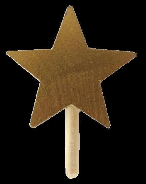 Sebastian Design, skandinavische Kerzenringe, Kerzenring, Kerzenringe, Candlerings, Steckfigur, Stern, goldener Stern, 46-133-199