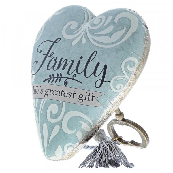 Art Hearts by Demdaco - Family Lifes Greatest Gift / Familie ist ein großes Geschenk