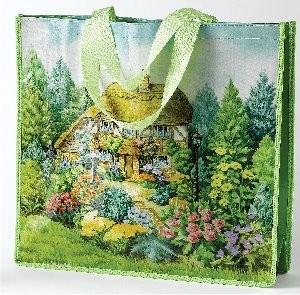Lilliput Lane, Miniaturhäuser, Miniaturhaus, Cottage, Einkaufstasche