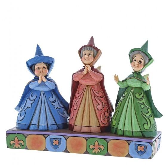 Disney Traditions, Jim Shore - Royal Guests, Three Fairies / Dornröschen, Briar Rose