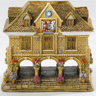 Lilliput Lane, Miniaturhaus, Miniaturhäuser, Cottage, Yo Olde Guildhall