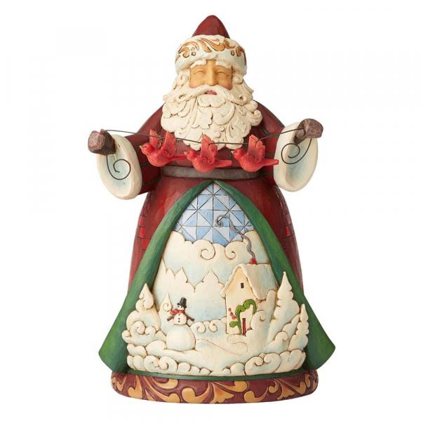 Heartwood Creek, Jim Shore, Charming Cheer Found Here, Santa, Weihnachtsmann