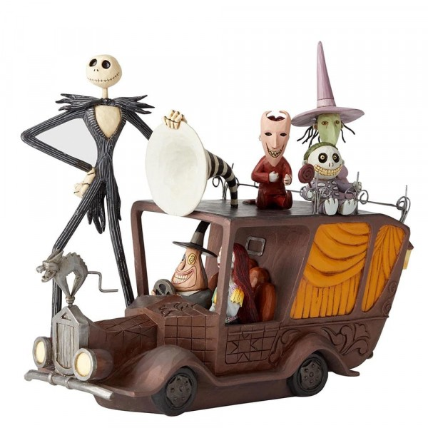 DIsney Traditions, Jim Shore, Terror Triumphant / Terror triumphiert, Nightmare Mayors Car - Nightmare Before Christmas