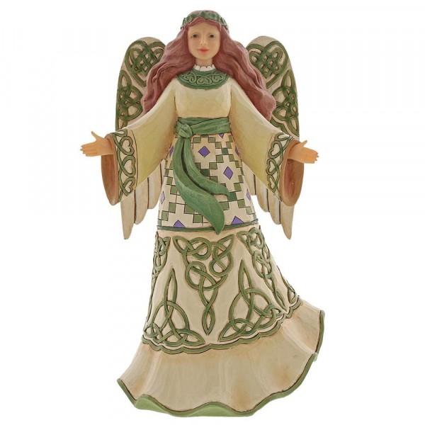 Heartwood Creek, Jim Shore, Miracles From Moors To Mountain, Irish Angel, Irischer Engel