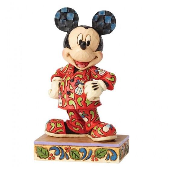 DIsney Traditions, Jim Shore - Magical Morning Mickey / Micky im Schlafanzug