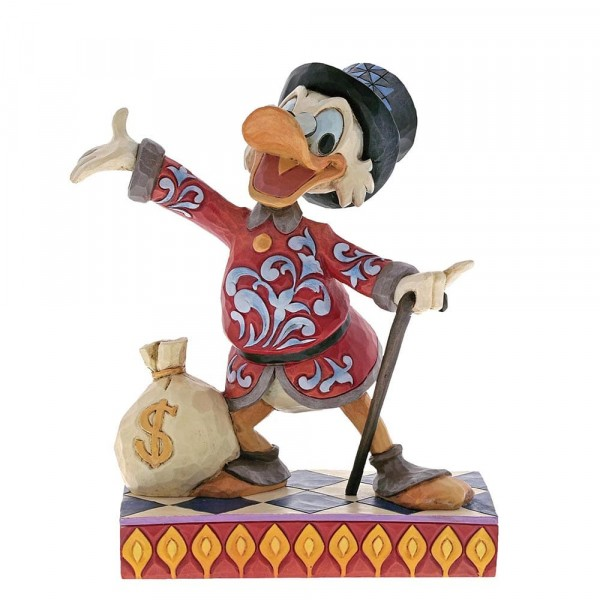 Disney Traditions, Jim Shore, Treasure Seeking Tycoon / Scrooge McDuck - Dagobert Duck