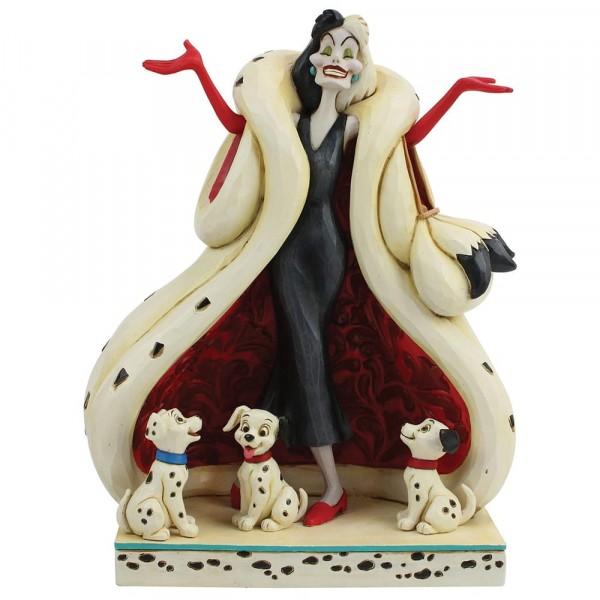 Disney Traditions, Jim Shore - The Cute And The Cruel, Cruella de Vil, 101 Dalmatiner