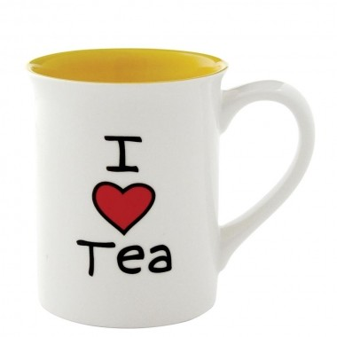 I Love Tea Becher