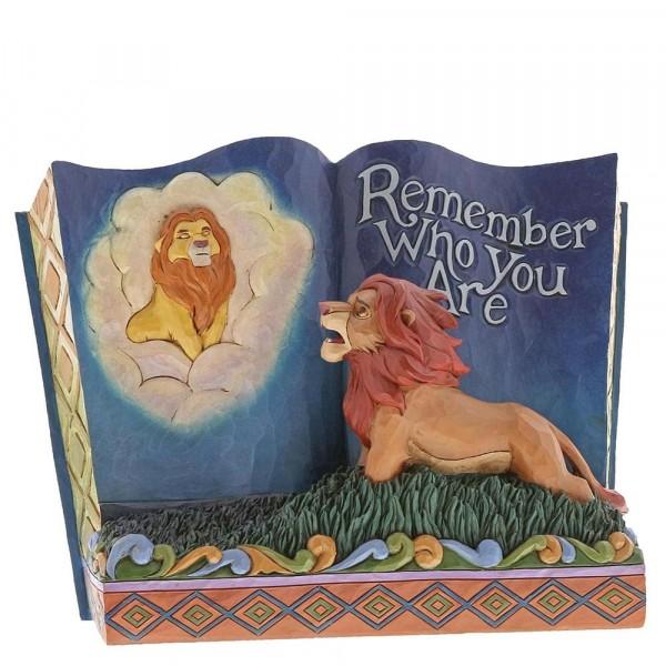 Disney Traditions, Jim Shore - Remember Who You Are Storybook - The Lion King / König der Löwen