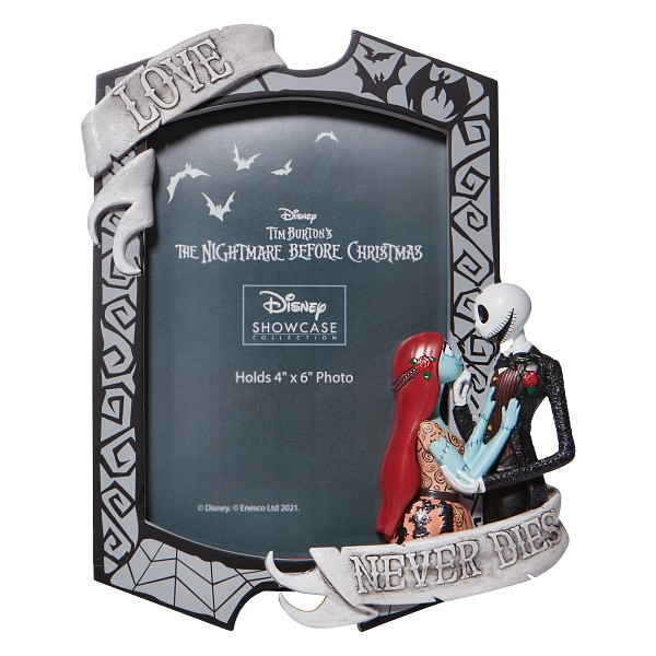 Disney Showcase, Disney Showcase Collection, 6008702, Jack and Sally Bilderrahmen, Picture Frame, Jack Skellington, Sally, Nightmare Before Christmas, Tim Burton