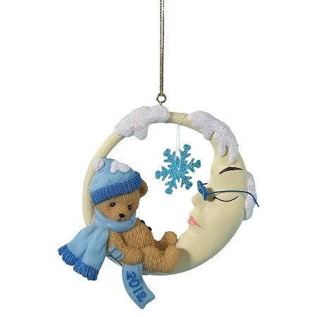 Cherished Teddies, May All Your Snowy Dreams Come True Ornament