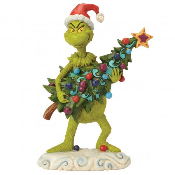 The Grinch, Der Grinch, Jim Shore, Grinch Stealing Tree, Grinch stiehlt Tannenbaum