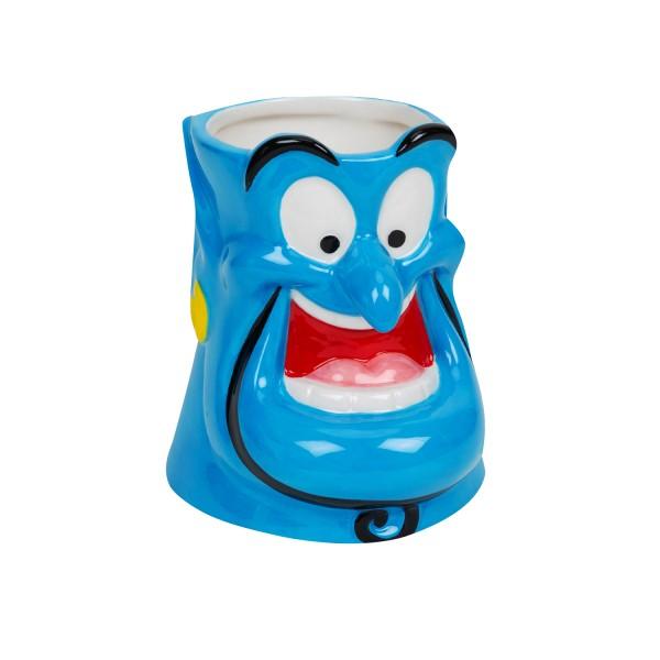 Disney, Walt Disney, Widdop and Co, Disney Aladdin 3D-Mug, Aladdin 3D-Becher, Genie, Dschinni, DI687