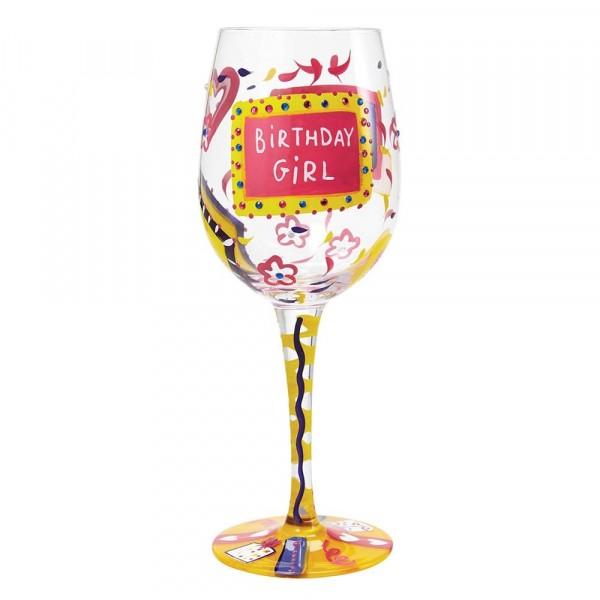 Lolita Weinglas, Lolita Weingläser, Lolita Gläser, Birthday Girl, Geburtstagsmädchen