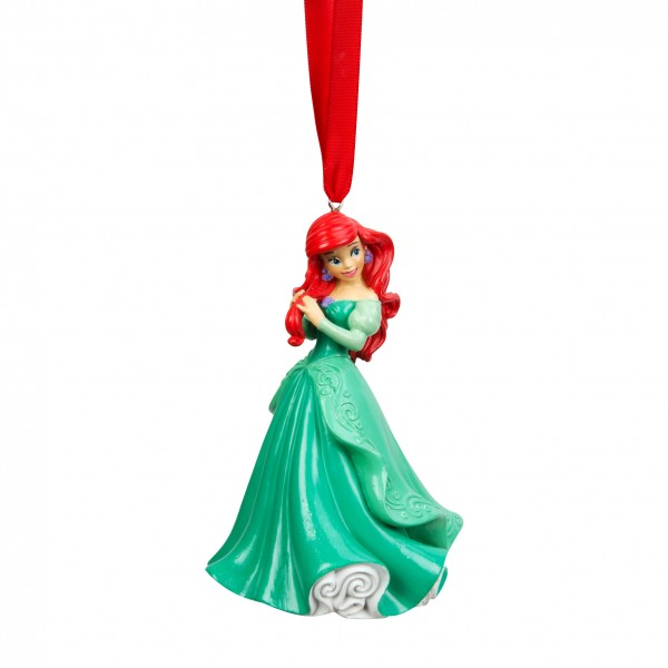 Disney, Walt Disney, Widdop and Co, Disney The Little Mermaid, Die kleine Meerjungfrau, Arielle, Ariel, Ornament, Weihnachtsanhänger, Tannenbaumanhänger, Christbaumanhänger. XM3296