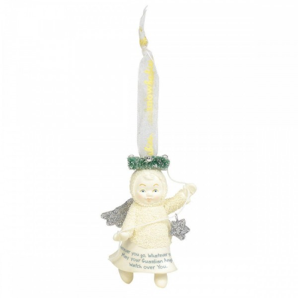 Kristi Jensen Piero, Snowpinions, Snowbabies, Department 56, Guardian Peace, Schutzengel Ornament, 6004214
