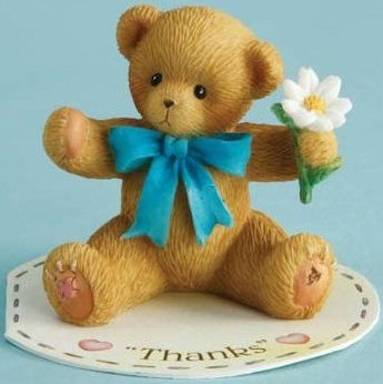 Cherished Teddies, Mini Thanks