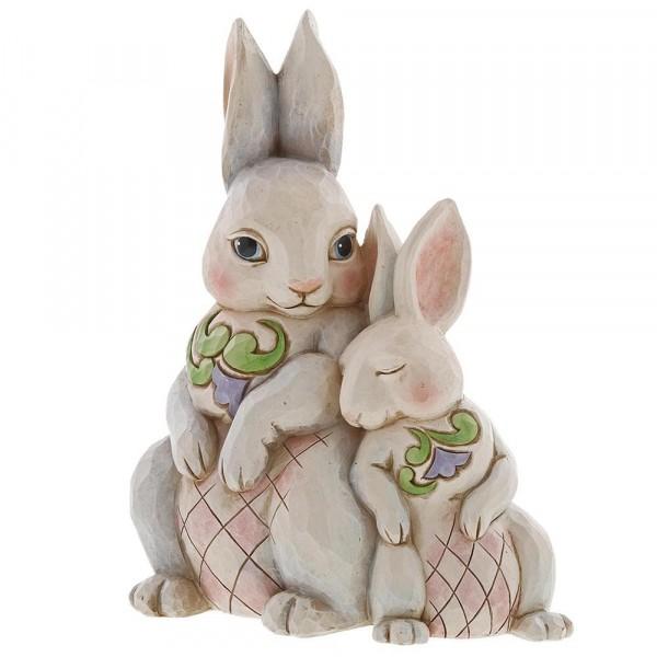 Heartwood Creek, Jim Shore, Forever My Honey Bunny, Hase, Hasenpärchen, Hasenpaar