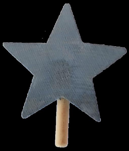 Sebastian Design, skandinavische Kerzenringe, Kerzenring, Kerzenringe, Holzkranz, Candlerings, Steckfigur, roter Stern, 46-133-128